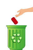 Recycling concept Royalty Free Stock Image