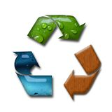 Recycling concept Royalty Free Stock Photos