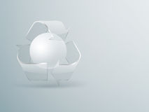 Recycling concept background Stock Photography
