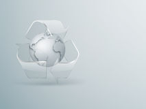 Recycling concept background Royalty Free Stock Images