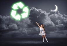 Recycling concept Stock Photos
