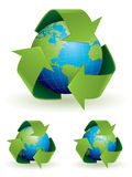 Recycling concept illustration Royalty Free Stock Photography