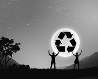 Recycling concept Stock Photography
