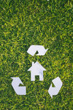 Recycling and Construction Stock Photography