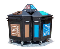Recycling container Stock Images