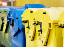 Recycling container, waste sorting Royalty Free Stock Photography