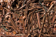 Recycling copper mixed Royalty Free Stock Photography