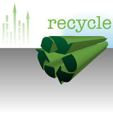 Recycling design Royalty Free Stock Images