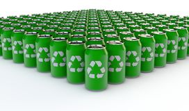 Recycling drink bottle Royalty Free Stock Photography