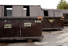 Recycling Dumpsters Royalty-vrije Stock Afbeelding