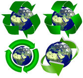 Recycling Earth Royalty Free Stock Image