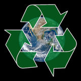 Recycling Earth Stock Photo