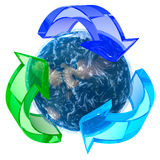 Recycling Earth Stock Photos