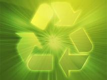 Recycling eco symbol Stock Photography