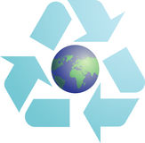 Recycling eco symbol Stock Image