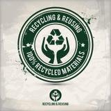 Recycling en het opnieuw gebruiken Royalty-vrije Stock Afbeelding