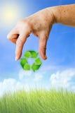 Recycling en milieu Stock Afbeeldingen