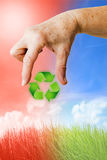 Recycling and environment Royalty Free Stock Images