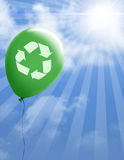 Recycling environmental scene Royalty Free Stock Images