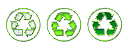 Recycling green Royalty Free Stock Photo