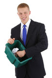 Recycling guy Stock Photography