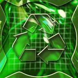 Recycling Icon Royalty Free Stock Image
