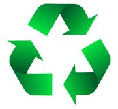Recycling icon Royalty Free Stock Photography