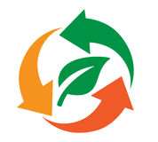 Recycling icon Design Stock Photography