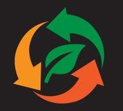 Recycling icon Design Stock Photos