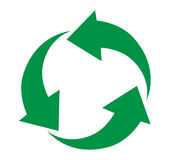Recycling icon Design Stock Image