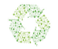 Recycling icons Stock Images
