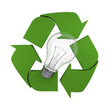 Recycling idea Royalty Free Stock Images