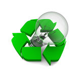 Recycling ideas Royalty Free Stock Image
