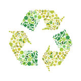 Recycling illustration Royalty Free Stock Photo