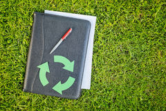 Recycling Industry Paperwork Stock Images