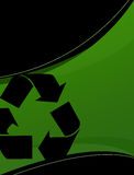 Recycling Layout Royalty Free Stock Images