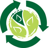 Recycling logo Royalty Free Stock Images