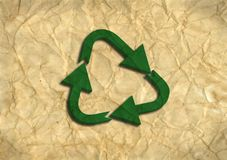 Recycling Logo Royalty Free Stock Image