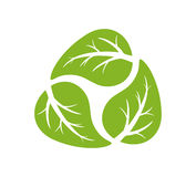 Recycling logo Royalty Free Stock Photography