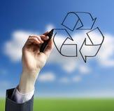 Recycling logo Stock Photos