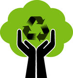 Recycling logo Stock Images