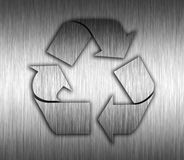 Recycling Metal background Stock Photos