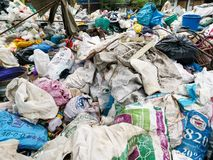 Free Recycling Mixed Material Junk Background Stock Image - 151705211