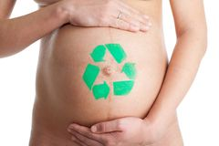 Recycling new live concept Royalty Free Stock Images