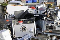 Recycling old metal Stock Photos