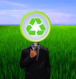 Recycling in the Organizations. Royalty Free Stock Photo