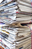 Recycling paper Royalty Free Stock Photo