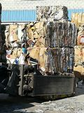 Recycling paper for paper industry Royalty Free Stock Image