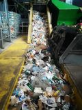 Recycling waste plant royalty free stock photos