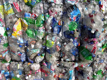Recycling Plastic Royalty Free Stock Photo